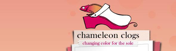 Chameleon clogs