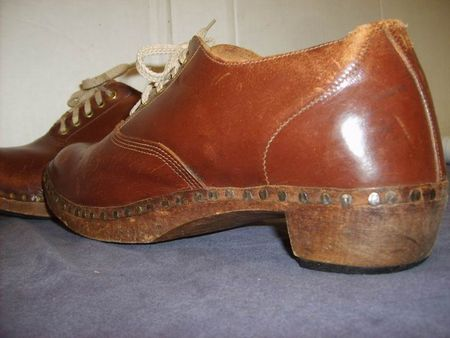 Shoes Wooden Leather 25.JPG