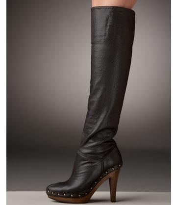 Stella mccartney tall clog boot 1