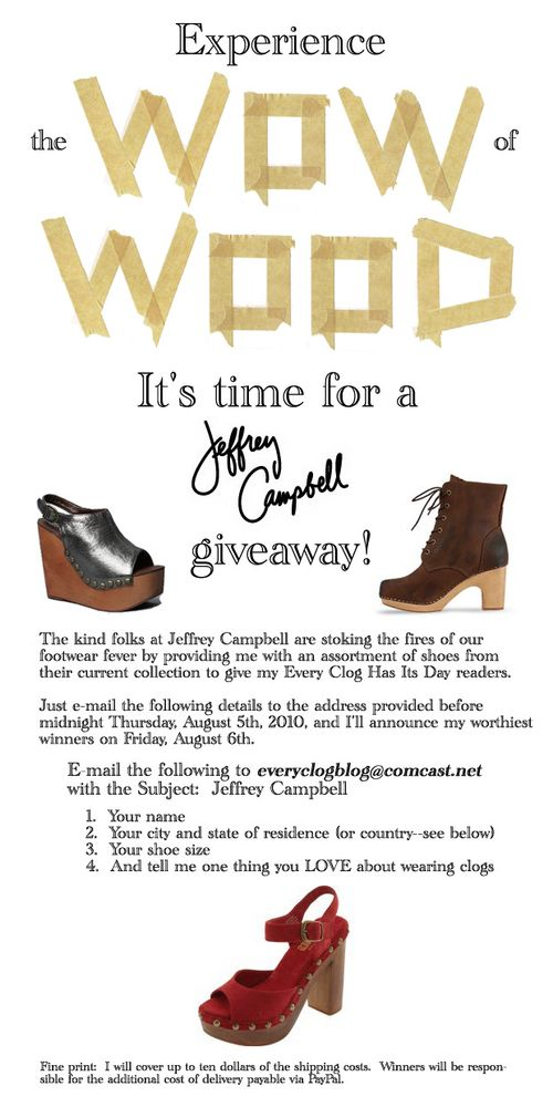 Jeffrey campbell giveaway ii