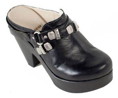 XAM-Leather-Strap-Mule-Clog-Black