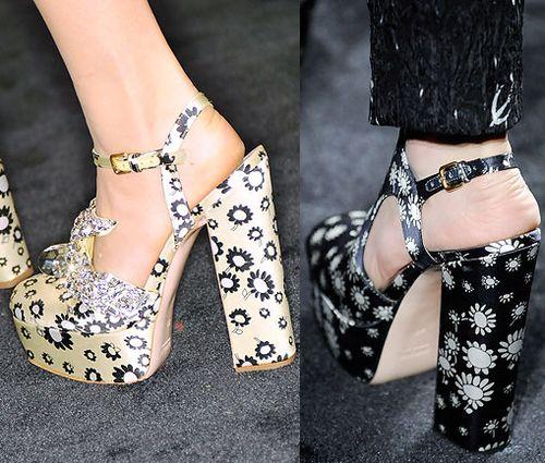 Miu Miu Spring 2010 - Shoes