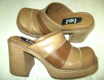 L e i chunky heel 1