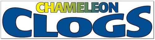 Cameleon clogs new logo