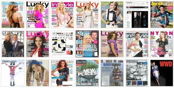 Sample covers from press page