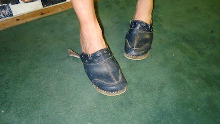 Clogs start to show wear