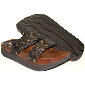 Earth shoe-cassidy sandal
