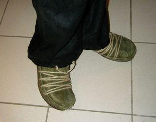 Sven-olive clog boot-05
