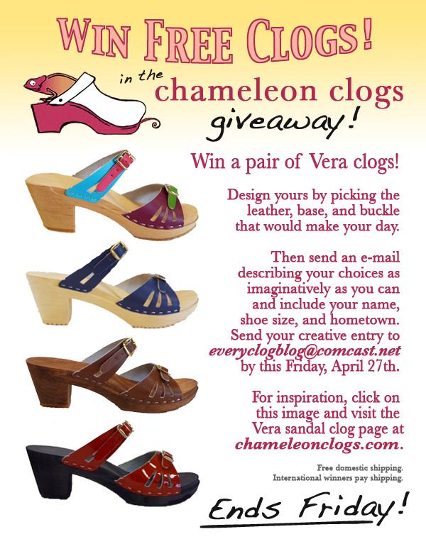 Chameleon clogs giveaway-02