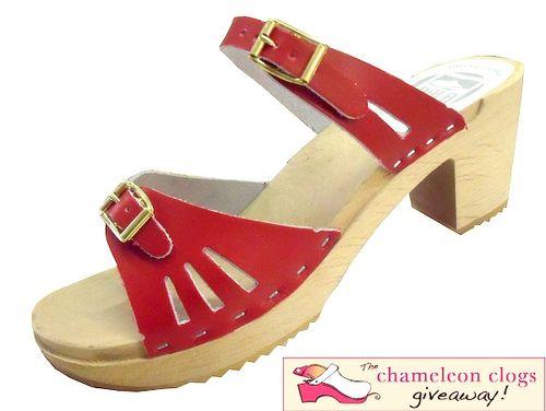 Chameleon clogs giveaway image