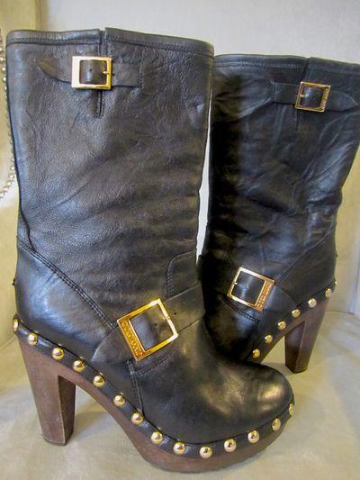 Jimmy choo clog boots