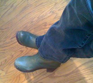Topshop clog boot-02