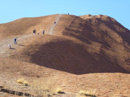 Uluru walking track 2