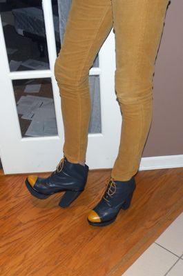 Sorel-medina rain boots-red