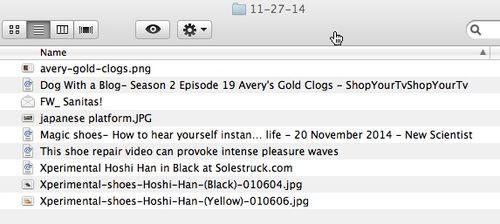 Clog blog folder