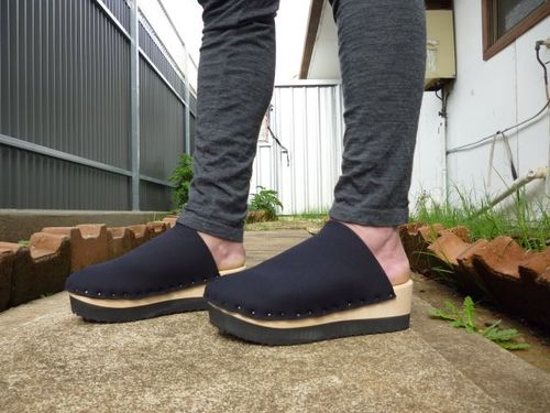 Neoprene clogs