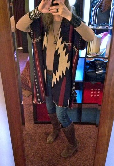 UGG Rosabella with Aztec sweater