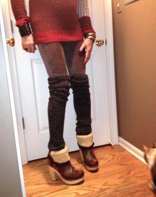 Artist clog boots photo